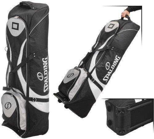 Spalding Reisetasche für Golfschläger, Schwarz/Weiß