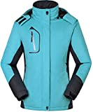 Cloudy Walker Womens Waterproof Mountain Jacket Fleece Windproof Ski Jacket