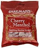 JAKEMANS CHERRY MENTHOL SWEETS 100G