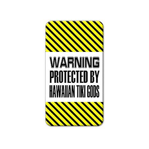 Aufkleber Protected By Tiki Gods Hawaii Hemd Anstecknadel aus Metall, Geldbörse, Stift, Krawattenanstecker Pinback