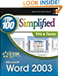 Word 2003: Top 100 Simplified Tips &...