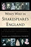 img - for Who's Who in Shakespeare's England book / textbook / text book