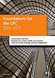 Foundations for the LPC 2016-2017 (Black...