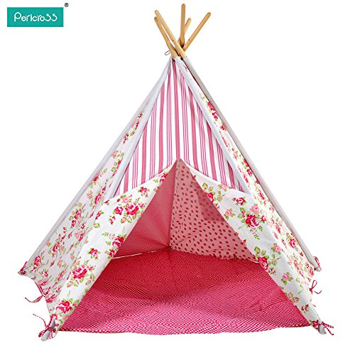 pericross-children-teepee-tent-kids-play-tent-indian-tent-for-kid-indoor-play-ground-play-house-tent