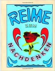 Reime zum nachdenken (German Edition): Harald Bejol: 9781494447809