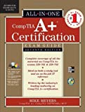 img - for CompTIA A+ Certification All-in-One Exam Guide, Seventh Edition (Exams 220-701 & 220-702) by Meyers, Michael 7th (seventh) (2010) Hardcover book / textbook / text book