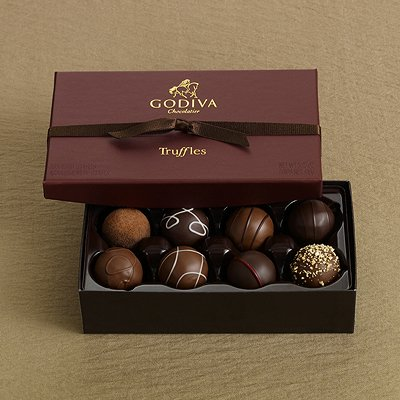 country of origin and packaging of godiva chocolates