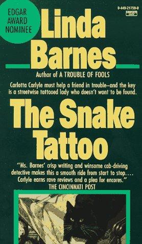 Snake Tattoo, LINDA BARNES