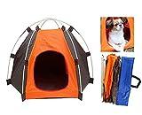 Tenda da campeggio - Cuccia ripiegabile da campeggio per il tuo cane o gatto, in nylon