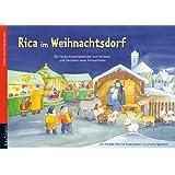 """Rica im Weihnachtsdorf: Folien-Adventskalendervon """"Annette Nau"""""""