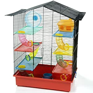 Critter Xl Hamster Cage Large Palace With Tubes