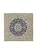 L'Eden del Tappeto Alfombra Kashmar Gris / Azul 195  x  192 cm