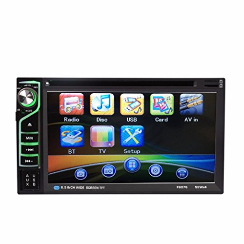 Naladoo 6.2 HD Double DIN Car Radio USB SD Navigation Touch screen CD Player Stereo (Shark Navigation Lift Away Dlx compare prices)