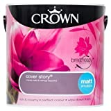 Crown Breatheasy Emulsion Paint - Matt - Cover Story - 2.5L