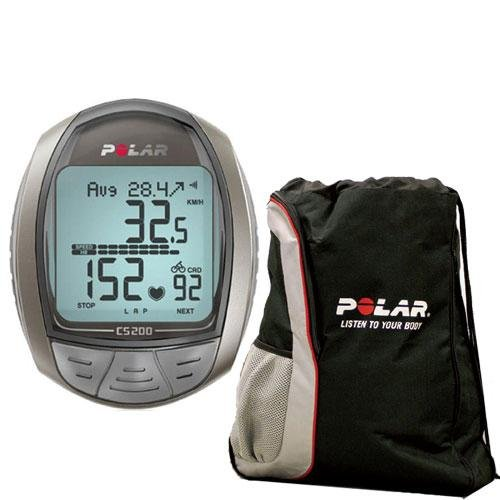 Cheap Polar CS200 Cycling Computer with FREE Polar Cinch Bag (CS-200Kit)