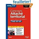Concours Attaché territorial - Tout-en-un - Catégorie A - Concours 2014