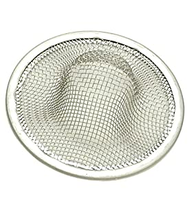 Laundry Sink Strainer : Stainless Mesh Strainer for Bathtub & Laundry Sinks - By Plumb USA ...