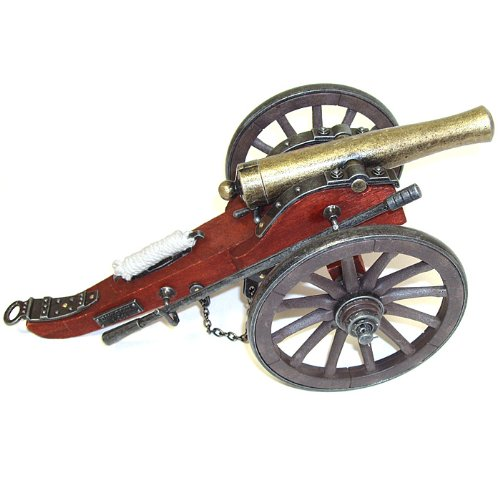 Whetstone Cutlery Collectible Miniature Civil War Cannon (Multi)