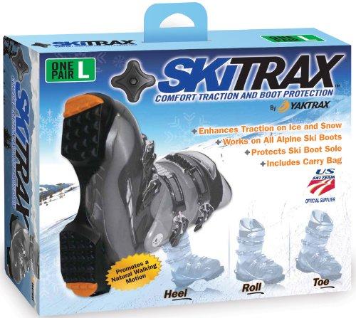 Yaktrax Skitrax (Black/Orange Large)