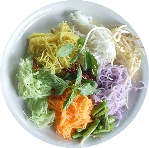 Supthong Thai Herb Rice Noodle Vermicelli – Brown Rice (7 Oz ...