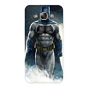 Blue Knight Walk Back Case Cover for Galaxy E7