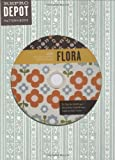 img - for Reprodepot Pattern Book: Flora: 225 Vintage-Inspired Textile Designs (Reprodepot's Pattern Book) book / textbook / text book
