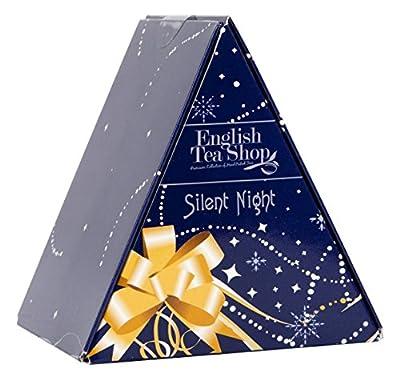 """English Tea Shop - """"Pyramiden Box - Silent Night"""", 6 Pyramidenbeutel mit Weihnachtstee von English Tea Shop bei Gewürze Shop"""