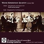 シューベルト : 弦楽四重奏曲 第14番 「死と乙女」 | ハイドン : 弦楽四重奏曲 第23番 (Schubert : String Quartet No.14 in D minor D.810 'Death and the Maiden' | Haydn : String Quartet No.23 in F minor op.20-5 / Wiener Konzerthaus Quartet in Japan 1960) [輸入盤]