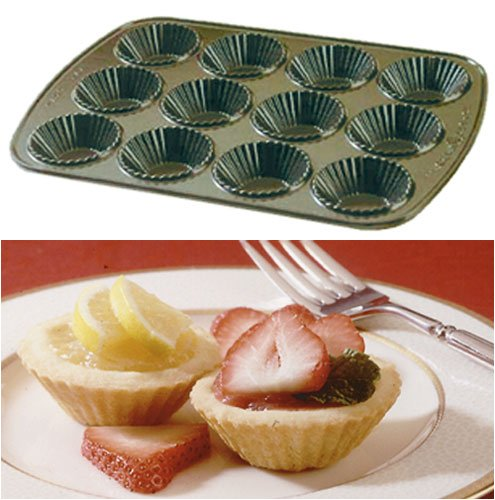 Petite Fluted Tartlet Pan - Buy Petite Fluted Tartlet Pan - Purchase Petite Fluted Tartlet Pan (Nordic Ware, Home & Garden, Categories, Kitchen & Dining, Cookware & Baking, Baking, Pie Tart & Quiche Pans, Tart Pans)