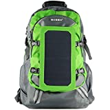 ECEEN® Solar Bag, Solar Charger Backpack With 7 Watts Solar Panel for Mobile Phones, Tablets, Android Phones,Smartphones, and Many Other 5V USB-Charged Devices