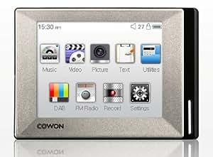 Cowon iAudio D2+ 4GB DAB MP3 Player Colour SILVER