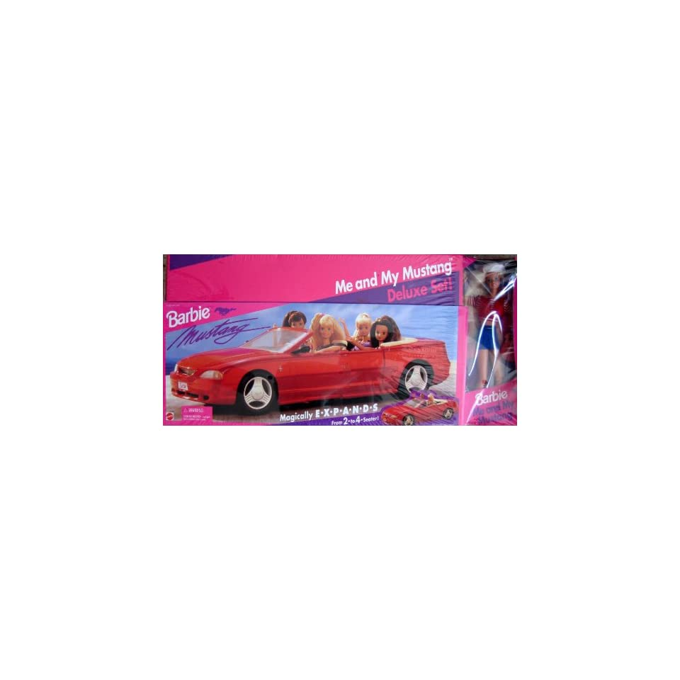 Barbie 57 Chevy Bel Air Convertible Car   Coolest Car in Town (1989 Mattel Hawthorne)