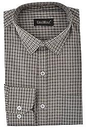 Edinwolf Men's Formal Shirt (EDFR702_38, Grey, 38)
