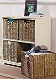 Storage Chest Cream 4 Seagrass Basket Hallway Storage Unit Malvern