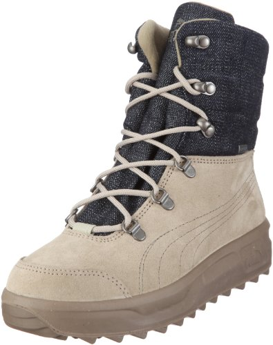 Hilfiger Denim Stiefel: Puma Caminar III GTX® WTR 303842, Unisex -  Erwachsene, Stiefel, Beige (safari beige-dark shadow 01), EU 38 (UK 5) (US  6) Test