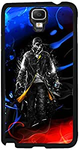 Printvisa 2D-SGN3N-D7666 Boy Fire Ice Case Cover For Samsung Galaxy Note 3 Neo 3G Sm-N750