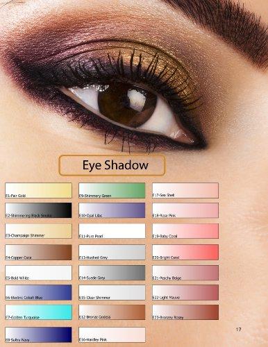Glam Air Airbrush E1 Fair Gold Eye Shadow Water-based Makeup