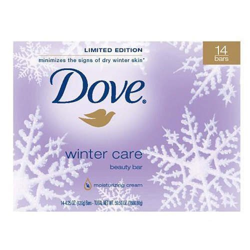 Dove Winter Care Beauty Bars - 14 Pack