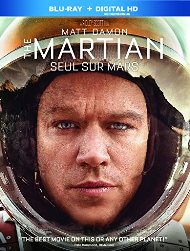 The Martian [Blu-ray + Digital Copy]