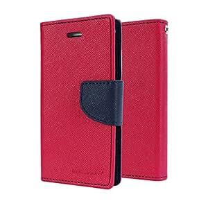 Case Design Mercury Flip Cover For Asus Zenfone C-Pink