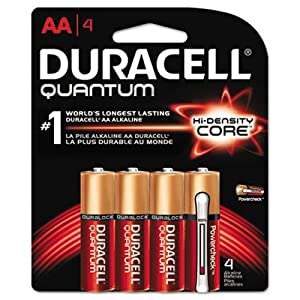 Duracell Mx1500b4 Ultra Advanced Alkaline Battery, Aa, 1.5 Volts