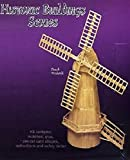 DUTCH WINDMILL Matchcraft matchstick model construction kit -