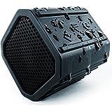 ECOXGEAR Ecopebble Rugged and Waterproof Wireless Bluetooth Speaker - Retail Packaging - Black