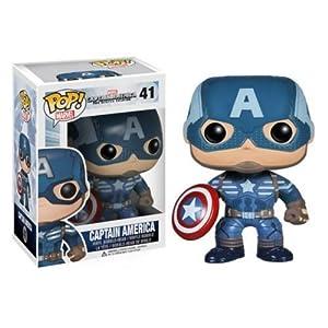 Funko POP Heroes: Captain America Movie 2 - Captain America Action Figure