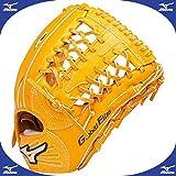 ミズノ グロ-バルエリート QMライン 硬式 外野手用 グラブ 左投用 サイズ 13 1AJGH12307 (オレンジ(54H))