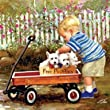 Masterpieces Puzzles - Puppy Love 1000 pc Joys of Childhood