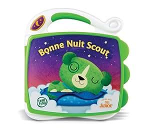 LeapFrog - 81130 - Eveil - Livre Interactif Bonne Nuit Scout