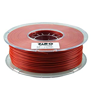 ZIRO 3D Printer Filament PLA 1.75 1KG(2.2lbs), Dimensional Accuracy +/- 0.05mm, Red from ZIRO