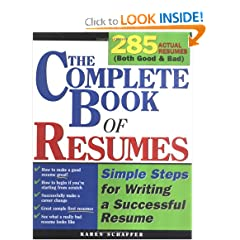The The Complete Book of Resumes: Simple Steps for Writing a Powerful Resume