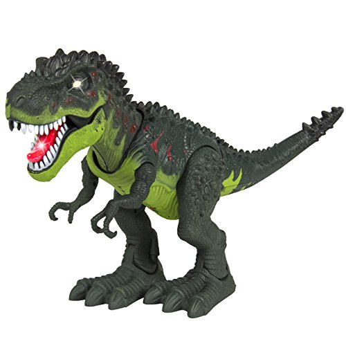 Best Choice Products Kids Toy Walking Dinosaur T-Rex Toy Figure With Lights & Sounds, Real Movement